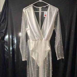 Pearl bodysuit